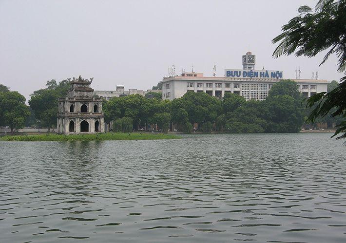 Lake of the Restored Sword (Hoan Kiem Lake)