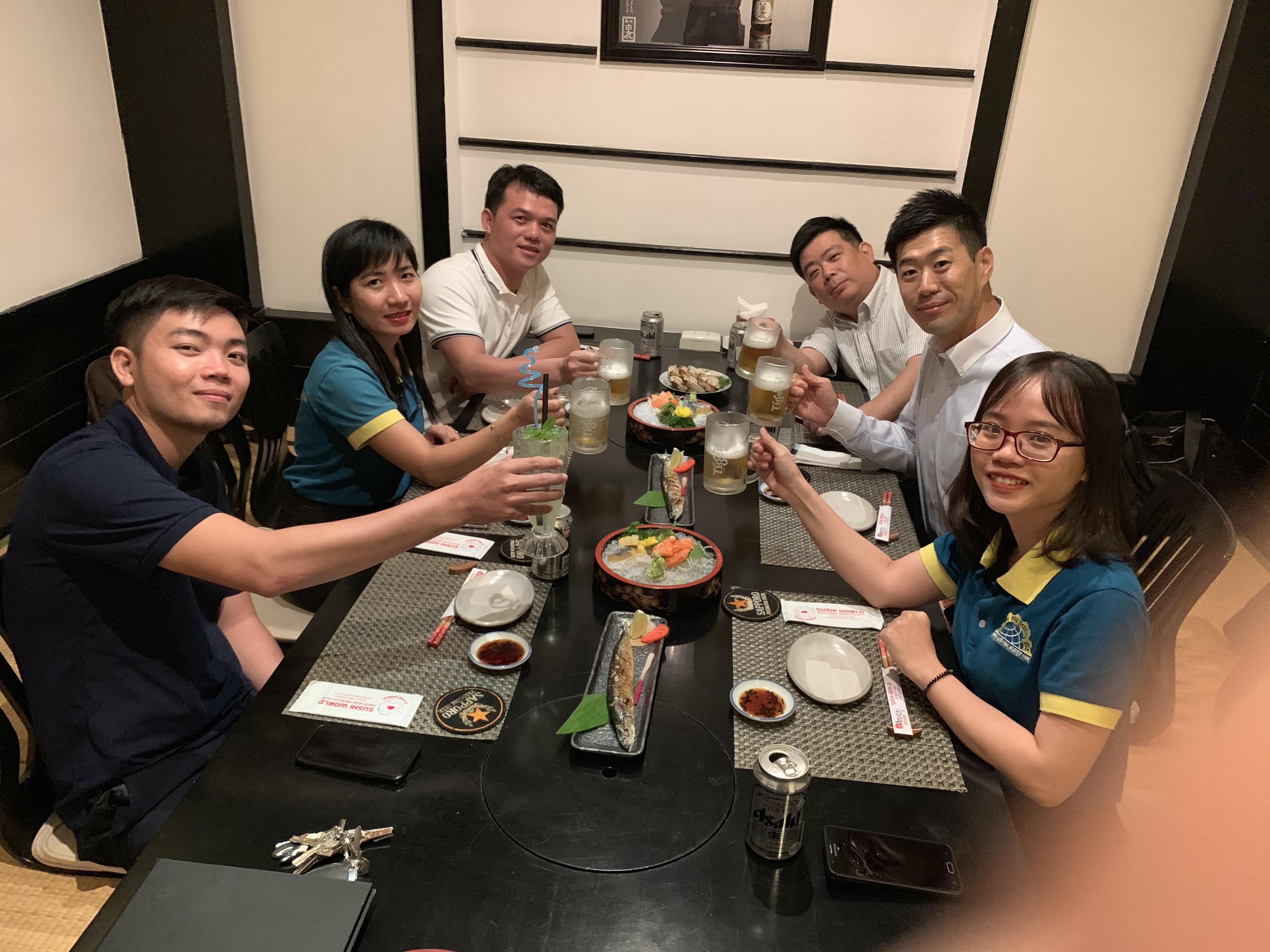 Japanese friends